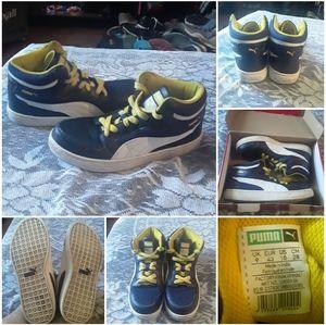 Puma Mens Size 10 High-Top Sneaker Shoes